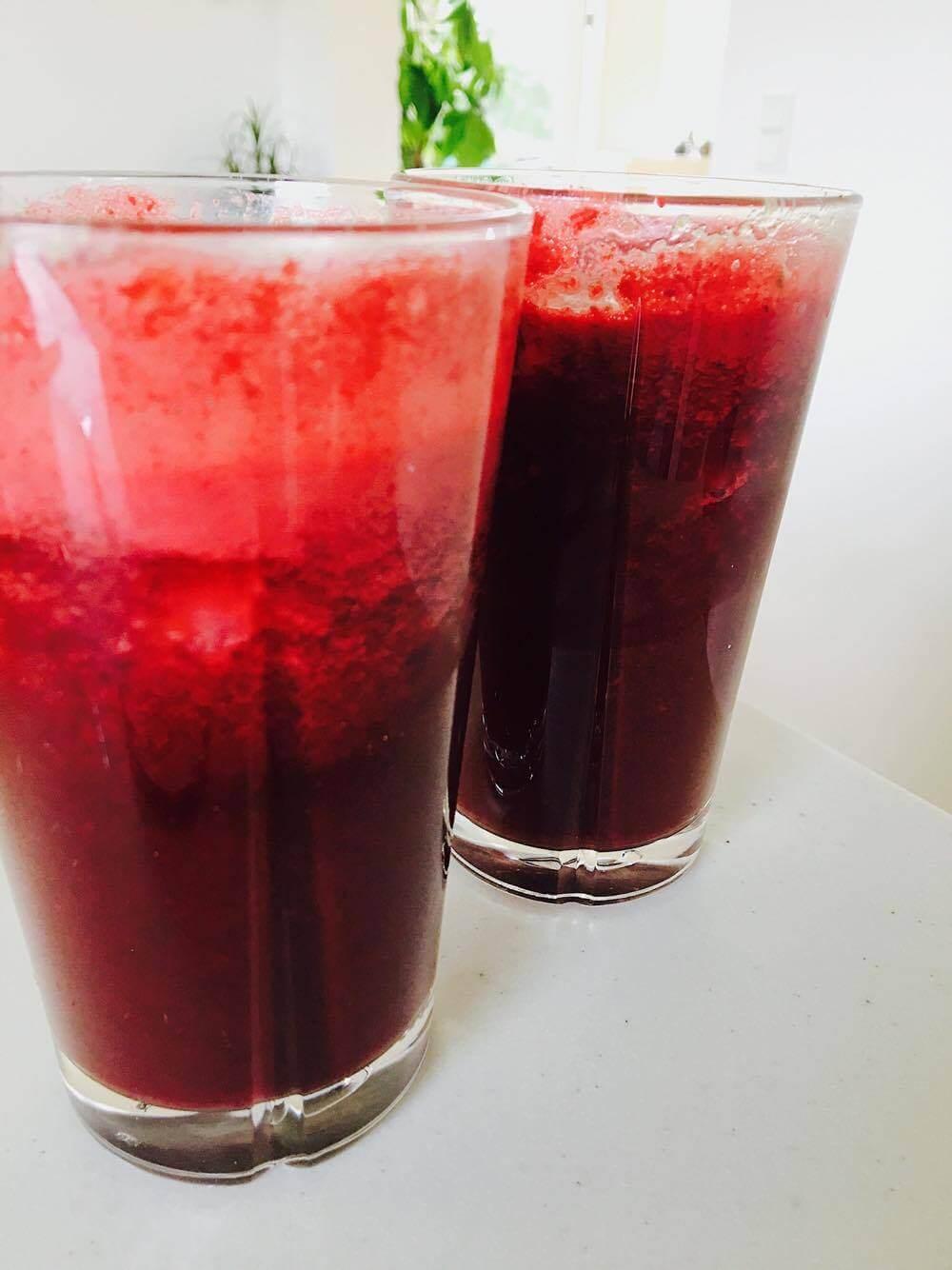 Lækker grøntsags juice - masser af sunde opskrifter, Anja Thy