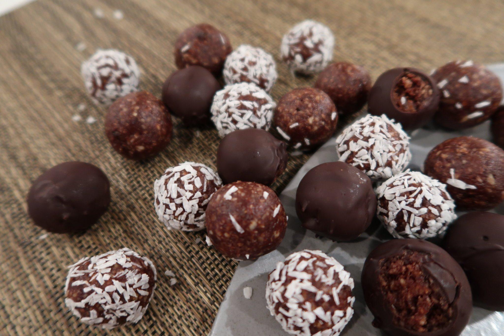Juledadelkugler - en sund og lækker jule snack